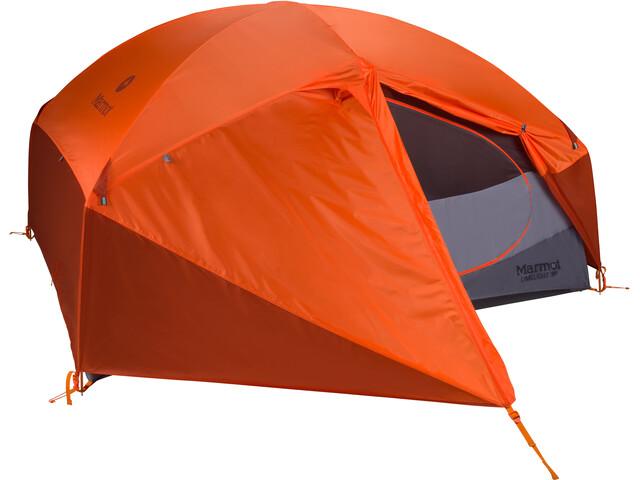 Marmot Limelight 3P Teltta, cinder/rusted orange